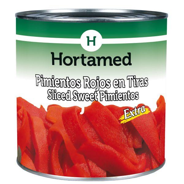 HORTAMED - PIMIENTOS ROJOS EN TIRAS EXTRA