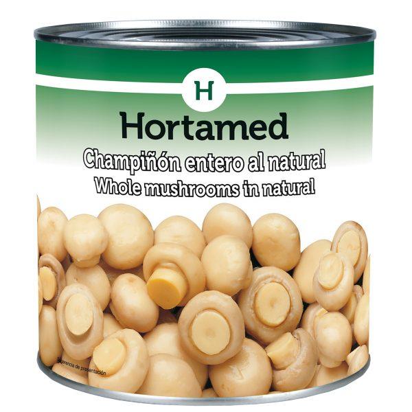 HORTAMED - CHAMPIÑON ENTERO AL NATURAL
