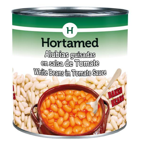 HORTAMED - BAKED BEANS - ALUBIAS GUISADAS EN SALSA DE TOMATE
